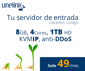 Unelink - Servidores virtuales (VPS) y servidores dedicados